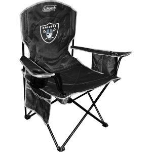 Terrific Oakland Raiders Ottoman Cooler Seat Las Vegas Football Fan Machost Co Dining Chair Design Ideas Machostcouk